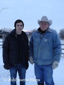 Alex w/ Rancher Randy Thompson